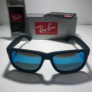 Ray-Ban Accessories - Ray bans Justin's RB 4165 622/55mm blue polarized